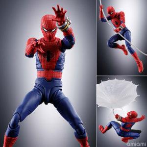 【スパイダーマン】S.H.フィギュアーツ『スパイダーマン(東映版)』可動フィギュア【BANDAI SPIRITS】より2020年8月発売予定☆