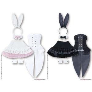 【48cm/50cmドール】50『ハッピィ☆バニードレスセット』1/3 ドール服【アゾン】より2020年3月発売予定♪