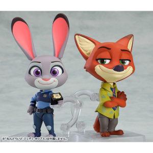 【ズートピア】ねんどろいど『ジュディ・ホップス』『ニック・ワイルド』可動フィギュア【グッドスマイルカンパニー】より2020年9月発売予定♪