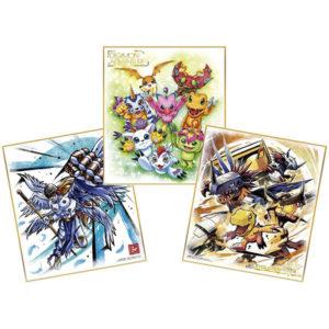 【デジモン】食玩『デジモン色紙ART』10個入りBOX【バンダイ】より2020年7月発売予定♪