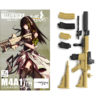 【リトルアーモリー x ドルフロ】1/12『M4A1タイプ』プラモデル【トミーテック】より2020年9月発売予定♪