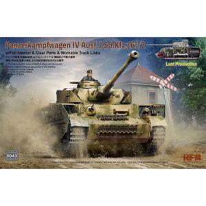 1/35『IV号戦車 J型 最終生産型Sd.Kfz.161/2 w/フルインテリア』プラモデル【ライフィールドモデル】より2020年8月発売予定♪