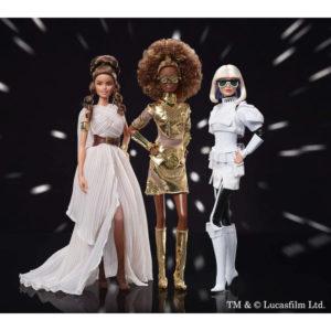 【スター・ウォーズ】バービー『レイ』『C-3PO』『ストーム・トルーパ』Barbie 完成品ドール【マテル】より2020年6月発売予定♪