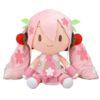 【初音ミク】『桜ミク どでかジャンボふわふわぬいぐるみ』ぬいぐるみ【セガ】より2020年10月再販予定♪