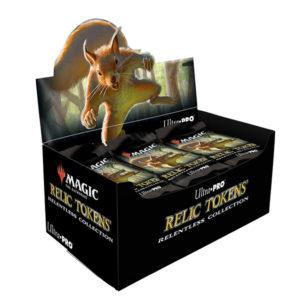 【マジック:ザ・ギャザリング】MTG公式レリックトークン『リレントレス・コレクション』カードサプライ【Ultra・PRO】より2020年10月発売予定♪