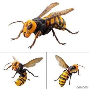 【リボジオ】REVOGEO『オオスズメバチ』可動フィギュア【海洋堂】より2020年8月発売予定♪