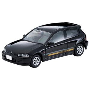 【トミカ】リミテッドヴィンテージ ネオ『ホンダ シビックSi 20周年記念車(黒)』1/64 ミニカー【トミーテック】より2020年10月発売予定♪