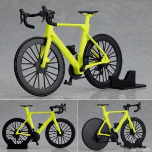 【figma+PLAMAX】figma Styles『ロードバイク(ライムグリーン)』プラモデル【マックスファクトリー】より2020年11月発売予定♪
