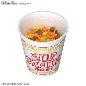 【日清食品】BEST HIT CHRONICLE『カップヌードル』1/1 プラモデル【BANDAI SPIRITS】より2020年9月発売予定☆