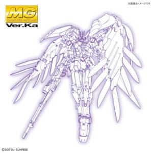 【ガンプラ】MG 1/100『ウイングガンダムゼロEW Ver.Ka』ガンダムW プラモデル【BANDAI SPIRITS】より2020年11月発売予定☆