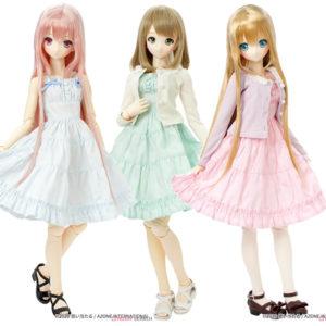 50cmコレクション『ふんわりカーディガン&キャミワンピsetII』1/3 ドール服【アゾン】より2020年6月発売予定♪