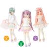 【ピュアニーモ】PNS『Sugar Dream お砂糖リボンフリルスカートII』1/6 ドール服【アゾン】より2020年6月発売予定♪