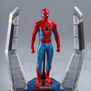 【スパイダーマン】ビデオゲーム・マスターピース『スパイダーマン(スパイダー・アーマーMK IVスーツ版)』Marvel's Spider-Man 1/6 可動フィギュア【ホットトイズ】より2021年9月発売予定♪