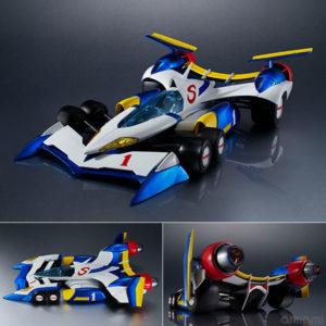 【サイバーフォーミュラ】ヴァリアブルアクション Hi-SPEC『スーパーアスラーダ AKF-11』1/18 可動モデル【メガハウス】より2021年6月発売予定♪