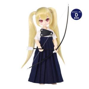 【ピコニーモ】1/12コスチューム『弓道着セット 白×紺』ドール服【アゾン】より2020年7月発売予定♪