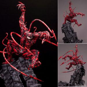 【スパイダーマン】ファインアートスタチュー『マキシマム・カーネイジ』MARVEL UNIVERSE 1/6 完成品フィギュア【コトブキヤ】より2021年1月発売予定♪