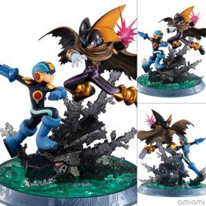 【ロックマン】ゲームキャラクターズコレクションDX『ロックマン vs フォルテ』完成品フィギュア【メガハウス】より2020年12月発売予定♪