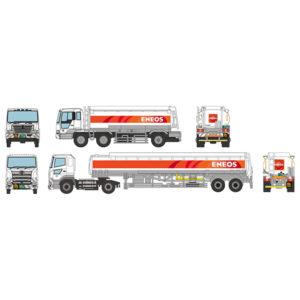 【トミカ】ザ・トラック『ENEOSタンクローリーセット』トレーラーコレクション ミニカー【トミーテック】より2020年12月発売予定♪
