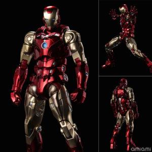 【アイアンマン】ファイティングアーマー『アイアンマン』Fighting Armor 可動フィギュア【千値練】より2020年11月発売予定♪