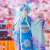【SAO】WAHOO!『アスナ ウンディーネ 京友禅ver.』1/7 美少女フィギュア【アニプレックス】より2020年11月発売予定♪