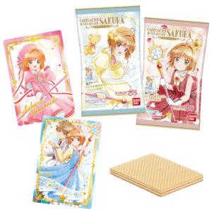 【カードキャプターさくら】食玩『クリアカード編 ウエハース2』20個入りBOX【バンダイ】より2020年9月発売予定♪