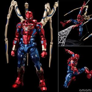 【スパイダーマン】ファイティングアーマー『アイアン・スパイダー』Fighting Armor 可動フィギュア【千値練】より2020年12月発売予定♪