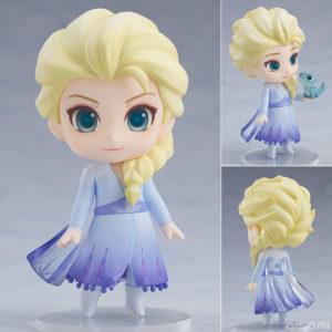 【アナ雪】ねんどろいど『エルサ Blue dress Ver.』デフォルメ可動フィギュア【グッドスマイルカンパニー】より2021年1月発売予定♪