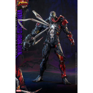 【スパイダーマン】アーティスト・コレクション『アイアンマン(ヴェノム版)』マキシマム・ヴェノム 1/6 可動フィギュア【ホットトイズ】より2022年8月発売予定♪