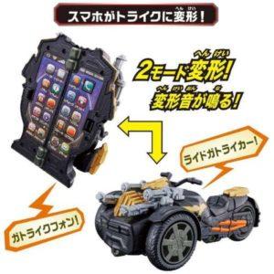 【仮面ライダーセイバー】『トライク変形 DXガトライクフォン』変身なりきり【バンダイ】より2020年10月発売予定♪