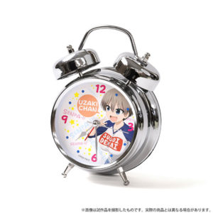 【宇崎ちゃんは遊びたい!】『宇崎ちゃんは遊びたい! 音声入り目覚まし時計』グッズ【ムービック】より2020年12月発売予定♪