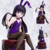 【俺妹】1/5『黒猫(五更瑠璃)バニーver. リサイズ版』俺の妹がこんなに可愛いわけがない。美少女フィギュア【FOTS JAPAN】より2020年12月発売予定