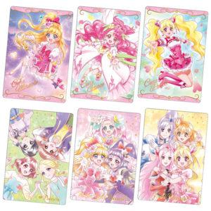 【プリキュア】食玩『プリキュア カードウエハース2』20個入りBOX【バンダイ】より2021年3月発売予定♪