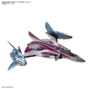 【マクロスΔ】1/72『Sv-262Hs ドラケンIII/リル・ドラケン装備(ミラージュ・ファリーナ・ジーナス搭乗機)』プラモデル【BANDAI SPIRITS】より2020年3月発売予定☆