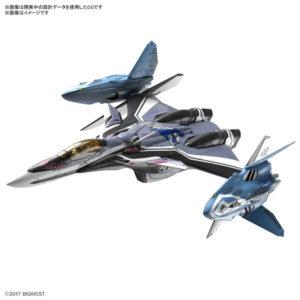 【マクロスΔ】1/72『VF-31F ジークフリード/リル・ドラケン装備(ハヤテ・インメルマン搭乗機)』プラモデル【BANDAI SPIRITS】より2020年3月発売予定☆