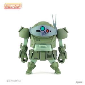 【装甲騎兵ボトムズ】チョイプラ『スコープドッグ』プラモデル【cavico models】より2020年12月発売予定☆