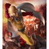 【ワンパンマン】1/7『サイタマ -隕石破壊 ver-』完成品フィギュア【eStream】より2021年9月発売予定♪