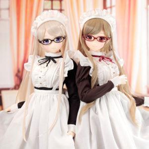 【Iris Collect】アイリスコレクト『ノワ/Classy Maid クラッシー・メイド ブラック&ブラウン』1/3 美少女ドール【アゾン】より2020年12月発売予定☆