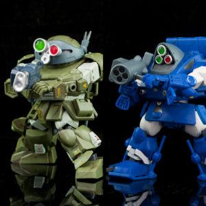 【装甲騎兵ボトムズ】B2FIVE『マーシィドッグ』『スナッピング・タートル』デフォルメ可動フィギュア【BEAVER】より2021年5月発売予定♪