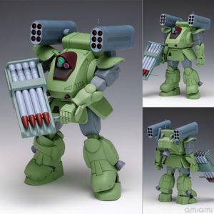 【装甲騎兵ボトムズ】1/35『スタンディングトータス MK.II[ST版]』プラモデル【WAVE】より2021年3月発売予定♪