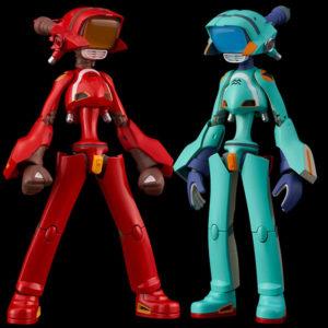 【フリクリ】『カンチ(赤)/(青)』可動フィギュア【千値練】より2021年7月発売予定♪