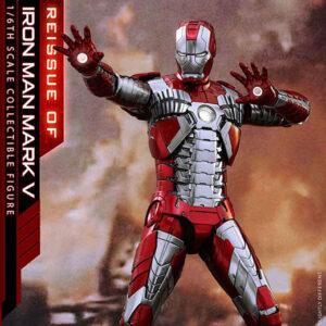 【アイアンマン2】ムービー・マスターピース DIECAST『アイアンマン マーク5』1/6 可動フィギュア【ホットトイズ】より2022年9月再販予定♪