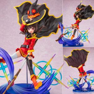 【このすば】CAworks『めぐみん AnimeOpeningEdition』1/7 美少女フィギュア【キャラアニ】より2021年9月発売予定♪