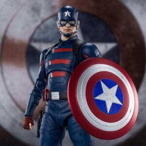 【ファルコン&ウィンター・ソルジャー】S.H.フィギュアーツ『キャプテン・アメリカ(ジョン・ウォーカー)』可動フィギュア【バンダイ】より2021年9月発売予定♪