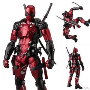 【デッドプール】ファイティングアーマー『デッドプール』Fighting Armor 可動フィギュア【千値練】より2021年6月発売予定♪