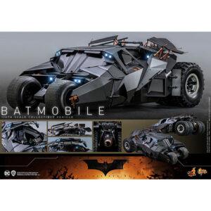 【バットマン】ムービー・マスターピース『バットモービル』1/6 可動フィギュア【ホットトイズ】より2022年12月発売予定☆