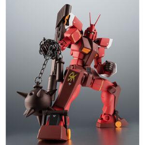【プラモ狂四郎】ROBOT魂〈SIDE MS〉『PF-78-3 パーフェクトガンダムIII(レッドウォーリア)ver. A.N.I.M.E.』可動フィギュア【バンダイ】より2021年10月発売予定♪