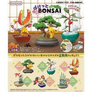 【ポケモン】食玩『ポケットモンスター ぽけっとBONSAI』6個入りBOX【リーメント】より2021年8月発売予定♪