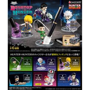 【HUNTER×HUNTER】DesQ『DESKTOP HUNTER(デスクトプ ハンター)』6個入りBOX【リーメント】より2021年8月発売予定♪