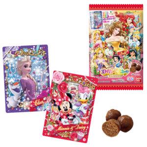 【ディズニー】食玩『ディズニー 3Dイリュージョンカード チョコスナック』20個入りBOX【バンダイ】より2021年5月発売予定♪