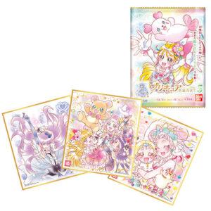 【プリキュア】食玩『プリキュア 色紙ART5』10個入りBOX【バンダイ】より2021年6月発売予定♪